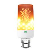 abordables Bombillas LED de Mazorca-YWXLIGHT® 1pc 6 W 550-600 lm E14 / B22 / E12 Bombillas LED de Mazorca T 99 Cuentas LED SMD 3528 Regulable / Decorativa / Llama parpadeante Blanco Cálido 85-265 V