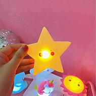 お買い得  -LED照明 星形 愛らしいです PVC(ポリ塩化ビニル) 子供 ティーンエイジャー フリーサイズ おもちゃ ギフト