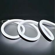 abordables Tiras de Luces LED-1m Tiras LED Flexibles 120 LED 2835 SMD Blanco Cálido / Blanco / Amarillo Impermeable / Fiesta / Decorativa 220-240 V 1pc