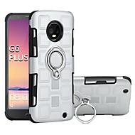 お買い得  携帯電話ケース-ケース 用途 Motorola MOTO G6 / Moto G6 Plus 耐衝撃 / バンカーリング バックカバー 鎧 ハード PC のために MOTO G6 / Moto G6 Plus / Moto G5s Plus