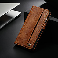 Недорогие Кейсы для iPhone 8 Plus-CaseMe Кейс для Назначение Apple iPhone 8 Plus / iPhone 7 Plus Кошелек / Бумажник для карт / со стендом Чехол Однотонный Твердый Кожа PU для iPhone 8 Pluss / iPhone 7 Plus