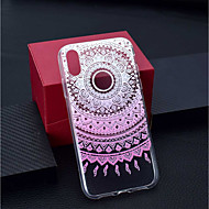 abordables Fundas para iPhone 8 Plus-Funda Para Apple iPhone XR / iPhone XS Max Transparente / Diseños Funda Trasera Flor Suave TPU para iPhone XS / iPhone XR / iPhone XS Max