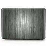 """お買い得  MacBook 用ケース/バッグ/スリーブ-MacBook ケース 木目 PVC のために MacBook Pro 13インチ / MacBook Pro Retinaディスプレイ15インチ / New MacBook Air 13"""" 2018"""