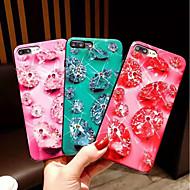 Недорогие Кейсы для iPhone 8 Plus-Кейс для Назначение Apple iPhone X / iPhone XS Max Стразы Кейс на заднюю панель Стразы Твердый ПК для iPhone XS / iPhone XR / iPhone XS Max