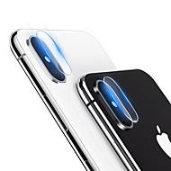 hesapli iPhone Ekran Koruyucuları-Ekran Koruyucu için Apple iPhone XS / iPhone XS Max Temperli Cam 1 parça Kamera Mercek Koruyucu Yüksek Tanımlama (HD) / 9H Sertlik / Parmak İzi Yapmayan