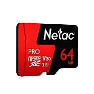 abordables -Netac 64Go carte mémoire UHS-I U3 / V30 P500pro