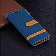 tanie -Kılıf Na Sony Xperia XA2 / Xperia XA3 Portfel / Etui na karty / Z podpórką Pełne etui Solidne kolory Twardość Skóra PU na Xperia XZ2 / Xperia XA2 Ultra / Xperia XA2