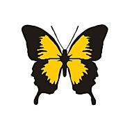 hesapli -Sarı / Pembe Araba Yapıştırıcıları Karikatür / Sporlar / sevimli Stil Kapak Etiketleri / Araba Kuyruk Çıkartmaları Hayvan / Karton Çıkartmalar