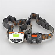 お買い得  フラッシュライト/ランタン/ライト-ヘッドランプ LED LED 3 エミッタ 500 lm 4.0 照明モード ミリタリー, 防水, 耐衝撃性 キャンプ / ハイキング / ケイビング, 日常使用, サイクリング ホワイト / ブラック