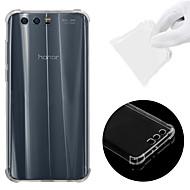 halpa Puhelimen kuoret-Etui Käyttötarkoitus Huawei Honor 9 Iskunkestävä / Läpinäkyvä Takakuori Yhtenäinen Pehmeä TPU varten Honor 9