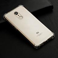 preiswerte Handyhüllen-Hülle Für Xiaomi Redmi Note 5 Pro / Redmi 6 Stoßresistent / Transparent Rückseite Solide Weich TPU für Redmi Note 5A / Xiaomi Redmi Note 5 Pro / Xiaomi Redmi Note 4X