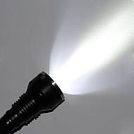 preiswerte Taschenlampen, Laternen & Lichter-LED Taschenlampen LED LED 3 Sender 3000 lm 5 Beleuchtungsmodus Wasserfest, Stoßfest, rutschfester Griff Camping / Wandern / Erkundungen, Für den täglichen Einsatz, Polizei / Militär