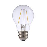 levne -GMY® 1ks 2 W 200 lm E26 / E27 LED žárovky s vláknem A17 2 LED korálky COB Ozdobné Teplá bílá 120 V