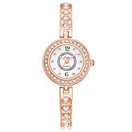 halpa -Naisten Rannekello Diamond Watch kultakello Quartz Hopea / Ruusukulta Uusi malli Arkikello jäljitelmä Diamond Analoginen Vapaa-aika Muoti - Musta / Hopeanvärinen Ruusukulta / Valkoinen Musta
