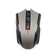 levne -LITBest Bezdrátové zařízení 2.4G Office Mouse / Silent myš Vedly dýchací světlo 1600 dpi 3 Nastavitelné úrovně DPI 3 pcs Klíče