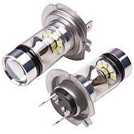 levne -OTOLAMPARA 2pcs H16 / H7 / H4 Auto Žárovky 100 W SMD 3030 2000 lm 20 LED Mlhovky Pro Nissan / Honda Altima / Civic / Accord 2019
