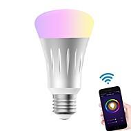 levne -KWB 1ks 7 W 700 lm E26 / E27 LED chytré žárovky A60(A19) 22 LED korálky SMD 5730 Smart / Kontrola APP / Časování RGBW 100-240 V