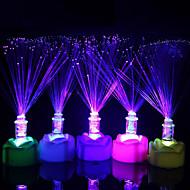 זול -קישוטים לחג לשנה החדשה תאורת חג מולד / קישוטים לחג המולד / חפצים דקורטיביים אור LED / דקורטיבי רף צבע 1pc