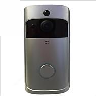 お買い得  -Factory OEM 2.4GHzワイヤレス 非対応 ハンズフリー 1280*720 ピクセル One to Oneのビデオドアホン