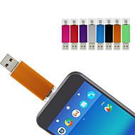 baratos -Ants 64GB unidade flash usb disco usb USB 2.0 / micro USB Revestimento em Metal Irregular Coberturas