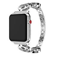 시계 밴드 용 Apple Watch Series 4/3/2/1 Apple 클래식 버클 스테인레스 스틸 손목 스트랩