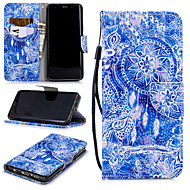 cheap -Case For Samsung Galaxy S9 Wallet / Card Holder / Shockproof Full Body Cases Dream Catcher Hard PU Leather for S9