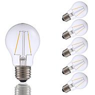 levne -GMY® 6ks 2 W 200 lm E26 / E27 LED žárovky s vláknem A17 2 LED korálky COB Ozdobné Teplá bílá 120 V