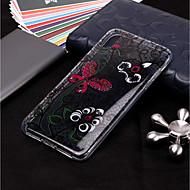 Недорогие Кейсы для iPhone 8 Plus-Кейс для Назначение Apple iPhone XR / iPhone XS Max Прозрачный / С узором Кейс на заднюю панель Бабочка / Цветы Мягкий ТПУ для iPhone XS / iPhone XR / iPhone XS Max