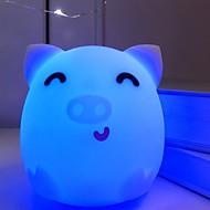 ieftine -1 buc LED-uri de lumină de noapte Albastru USD Creative <=36 V