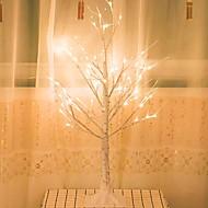 Χαμηλού Κόστους -1pc LED νύχτα φως Θερμό Λευκό Τροφοδοσία LCD Δημιουργικό <=36 V