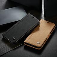 ราคาถูก -WHATIF Case สำหรับ Samsung Galaxy S8 Wallet / Card Holder / with Stand ตัวกระเป๋าเต็ม สีพื้น Hard หนัง PU สำหรับ S8