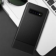 ราคาถูก -Case สำหรับ Samsung Galaxy Galaxy S10 / Galaxy S10 Plus Embossed ปกหลัง สีพื้น Soft TPU สำหรับ S9 / S9 Plus / S8 Plus