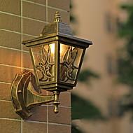 ieftine -Model nou Retro / Vintage Becuri de perete Dormitor / Interior Metal Lumina de perete 220-240V 40 W