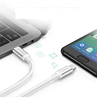 저렴한 -유형 -C USB 케이블 어댑터 빠른 청구 케이블 제품 삼성 / Huawei / Xiaomi 150 cm 제품 알루미늄