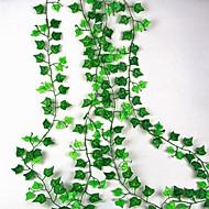 お買い得  -人工花 1 ブランチ 壁掛け式 一時停止中 結婚式 田園 スタイル 植物 ウォールフラワー