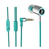 お買い得  -DZAT DZAT DR-25 3.5MM JACK 耳の中 ケーブル ヘッドホン イヤホン ポリプロピレン+ABS樹脂 携帯電話 イヤホン ステレオ / デュアルドライバ / マイク付き ヘッドセット