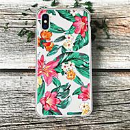 저렴한 -케이스 제품 Apple iPhone XS / iPhone XR 패턴 뒷면 커버 카툰 / 유화 / 꽃장식 소프트 TPU 용 iPhone XS / iPhone XR / iPhone XS Max