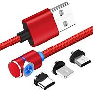 90 graus cabo usb magnética para iphone x xr xs max 8 7 6 5 magneto micro usb tipo c cabo para samsung xiaomi huawei
