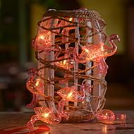 ieftine -3M Fâșii de Iluminat 20 LED-uri Alb Cald Decorativ Baterii alimentate 1set