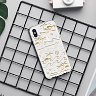 저렴한 -케이스 제품 Apple iPhone XR / iPhone XS Max 패턴 뒷면 커버 라인 / 웨이브 / 풍경 / 카툰 소프트 TPU 용 iPhone XS / iPhone XR / iPhone XS Max
