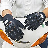 economico -Dita intere Per uomo Guanti moto PVC (Polyvinylchlorid) / Tessuto retato traspirante Traspirante / Anti-usura / Non slip