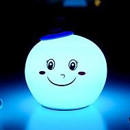 tanie -1 szt. Noc LED Light Niebieski USB Kreatywne <=36 V
