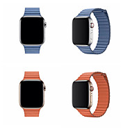 Pogledajte Band za Apple Watch Series 4/3/2/1 Apple Klasična kopča Prava koža Traka za ruku