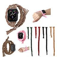 baratos -Pulseiras de Relógio para Apple Watch Series 4/3/2/1 Apple Pulseira Esportiva Couro Legitimo Tira de Pulso