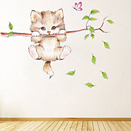cheap -Decorative Wall Stickers - Animal Wall Stickers Animals Living Room / Bedroom / Kitchen