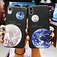 케이스 제품 Apple iPhone X / iPhone 6s 충격방지 / 울트라 씬 / 반투명 뒷면 커버 풍경 하드 플라스틱 / PC 용 iPhone XS / iPhone XR / iPhone XS Max