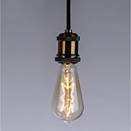 cheap -1pc 40 W E26 / E27 ST64 Yellow Transparent Body Incandescent Vintage Edison Light Bulb 220-240 V