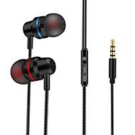 رخيصةأون -LITBest في الاذن سلكي Headphones سماعة Aluminum Alloy / جل السيليكا الهاتف المحمول سماعة ستيريو سماعة