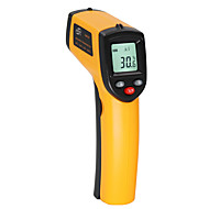 cheap -BENETECH Digital thermometer gun -50~530℃ non contact infrared thermometer temperature gun ir thermometer industrial GM530