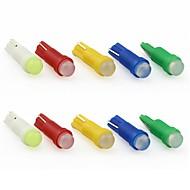 저렴한 -10pcs T5 차 전구 0.5 W COB 60 lm 1 LED 인테리어 조명 제품 유니버셜 모든 년도